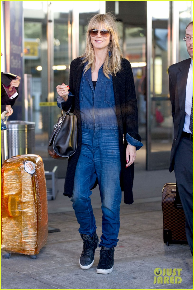 heidi klum lands in nyc after la hospital visit 282975873