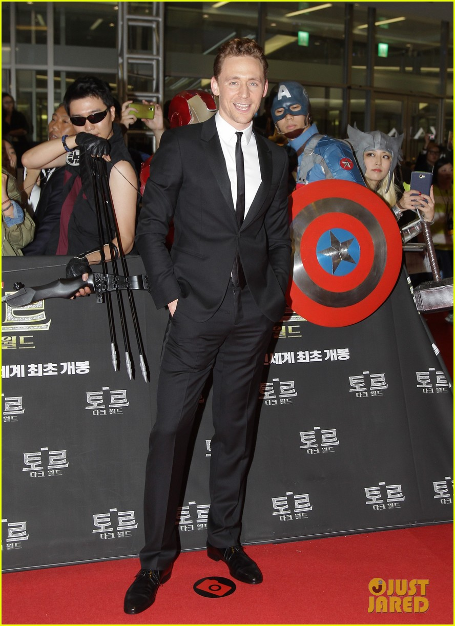 tom hiddleston thor the dark world south korea premiere 012971881