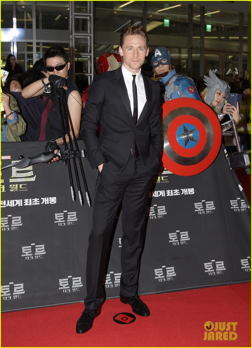 tom hiddleston thor the dark world south korea premiere 102971890