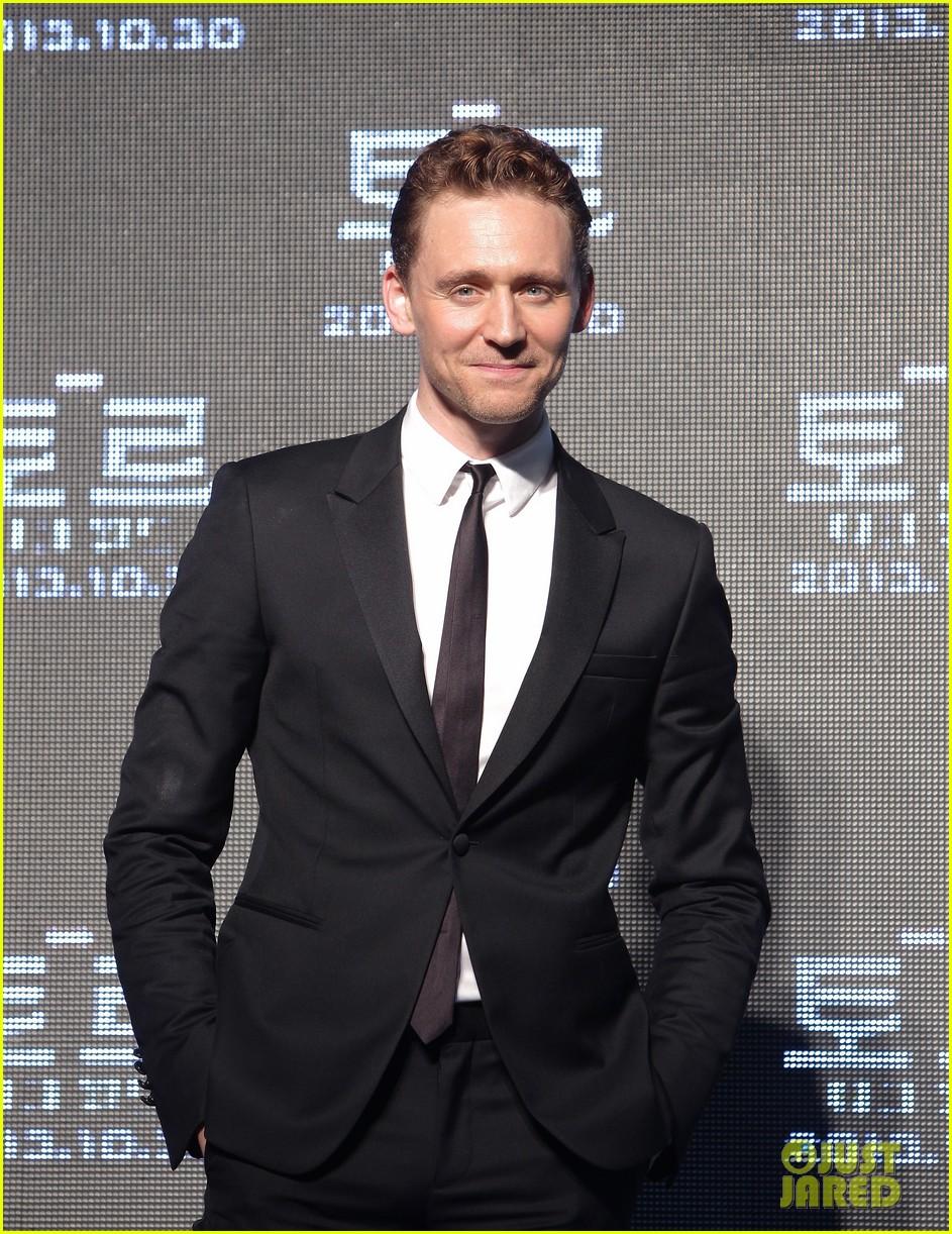 tom hiddleston thor the dark world south korea premiere 202971900