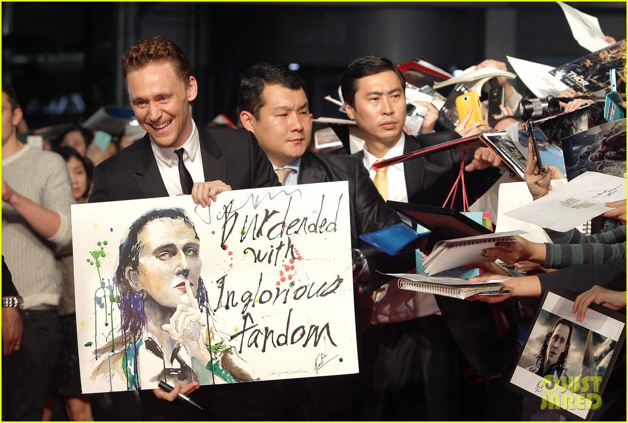 tom hiddleston thor the dark world south korea premiere 232971903