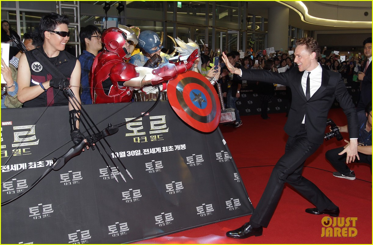 tom hiddleston thor the dark world south korea premiere 242971904