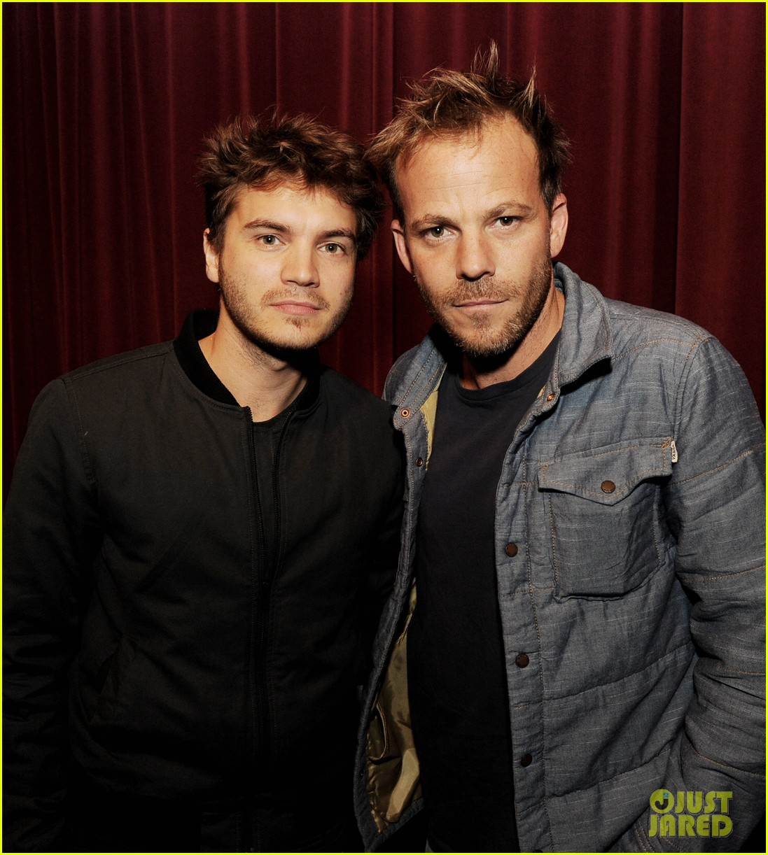 emile hirsch stephen dorff the motel life screening 022968936
