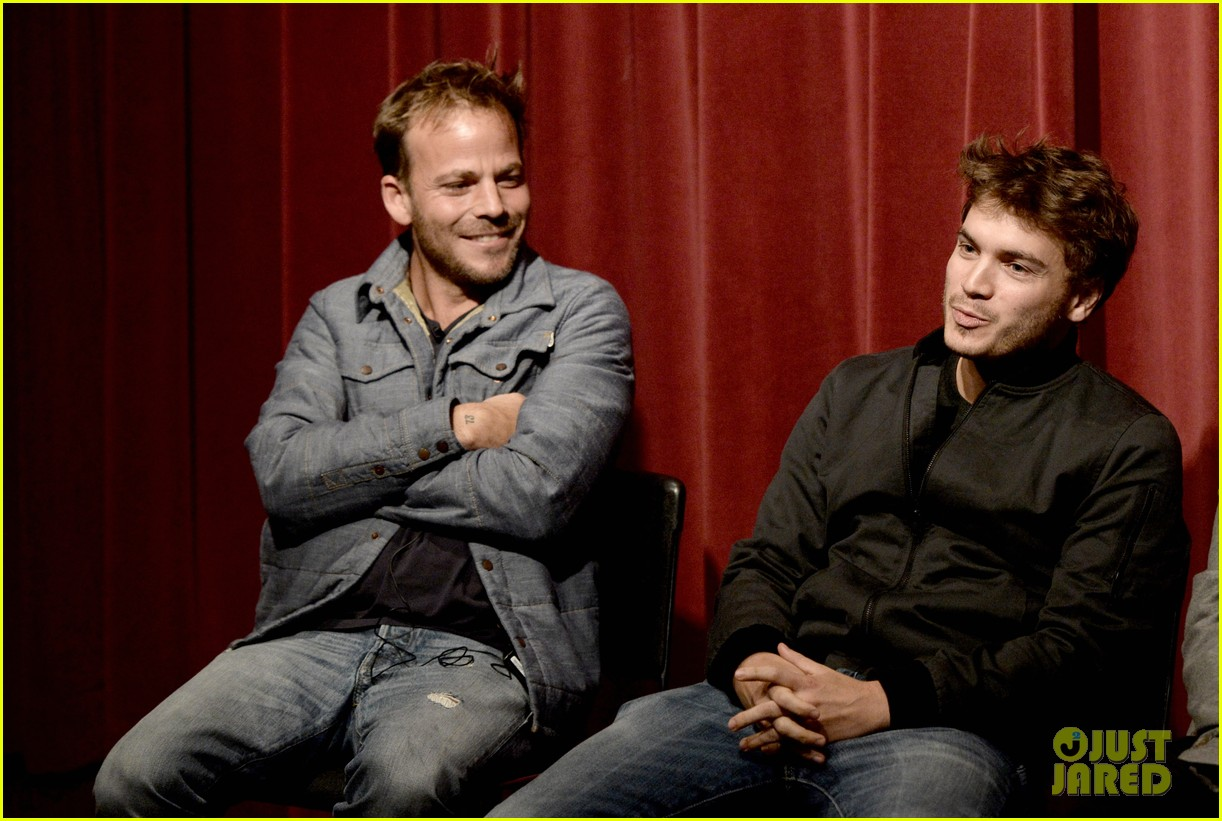 emile hirsch stephen dorff the motel life screening 062968940