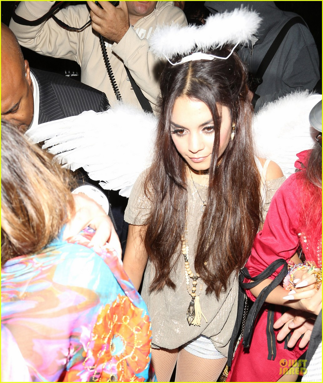 vanessa hudgens angel at casamigos halloween party 2013 02