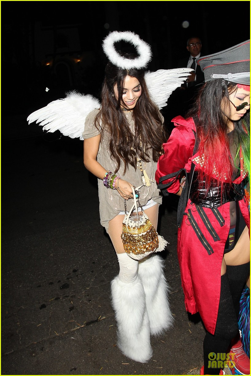 vanessa hudgens angel at casamigos halloween party 2013 052979553