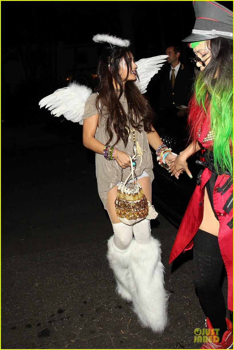 vanessa hudgens angel at casamigos halloween party 2013 072979555