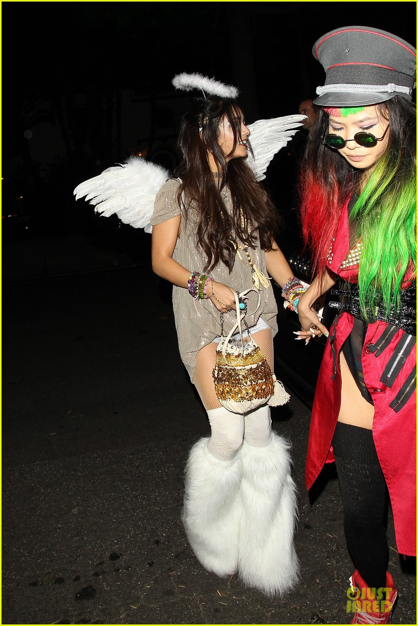 vanessa hudgens angel at casamigos halloween party 2013 08