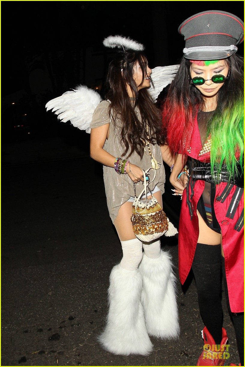 vanessa hudgens angel at casamigos halloween party 2013 092979557