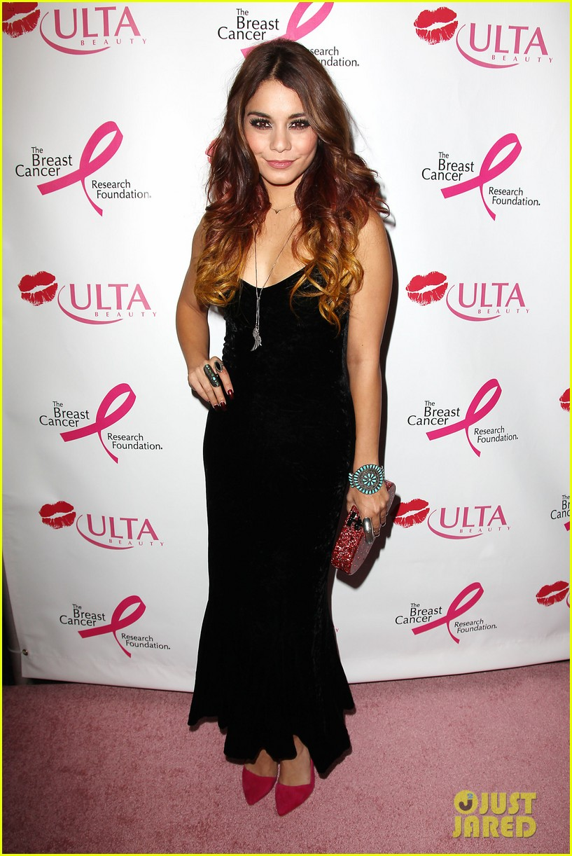 vanessa hudgens donates a kiss at ulta beauty event 052965460
