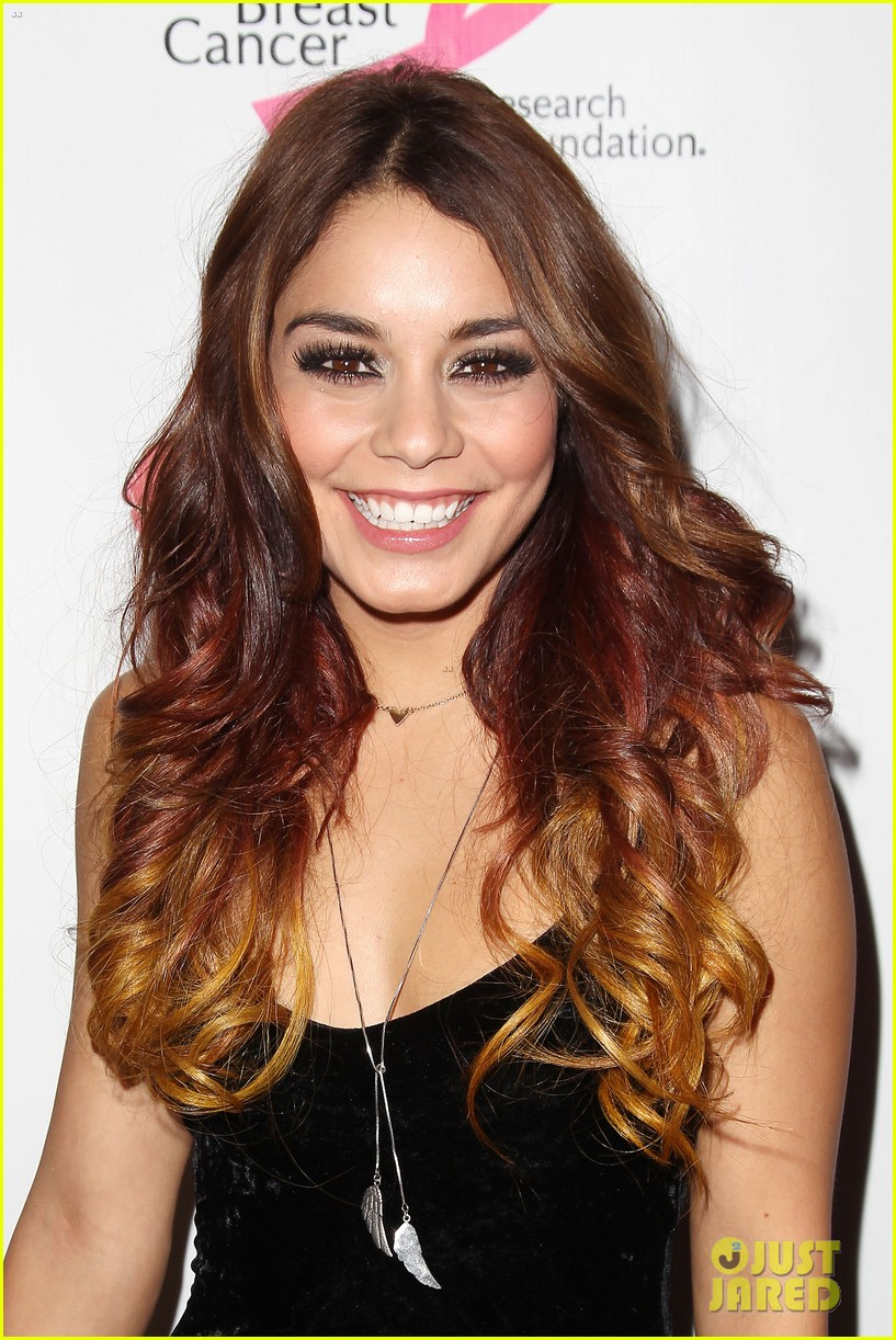 vanessa hudgens donates a kiss at ulta beauty event 092965464