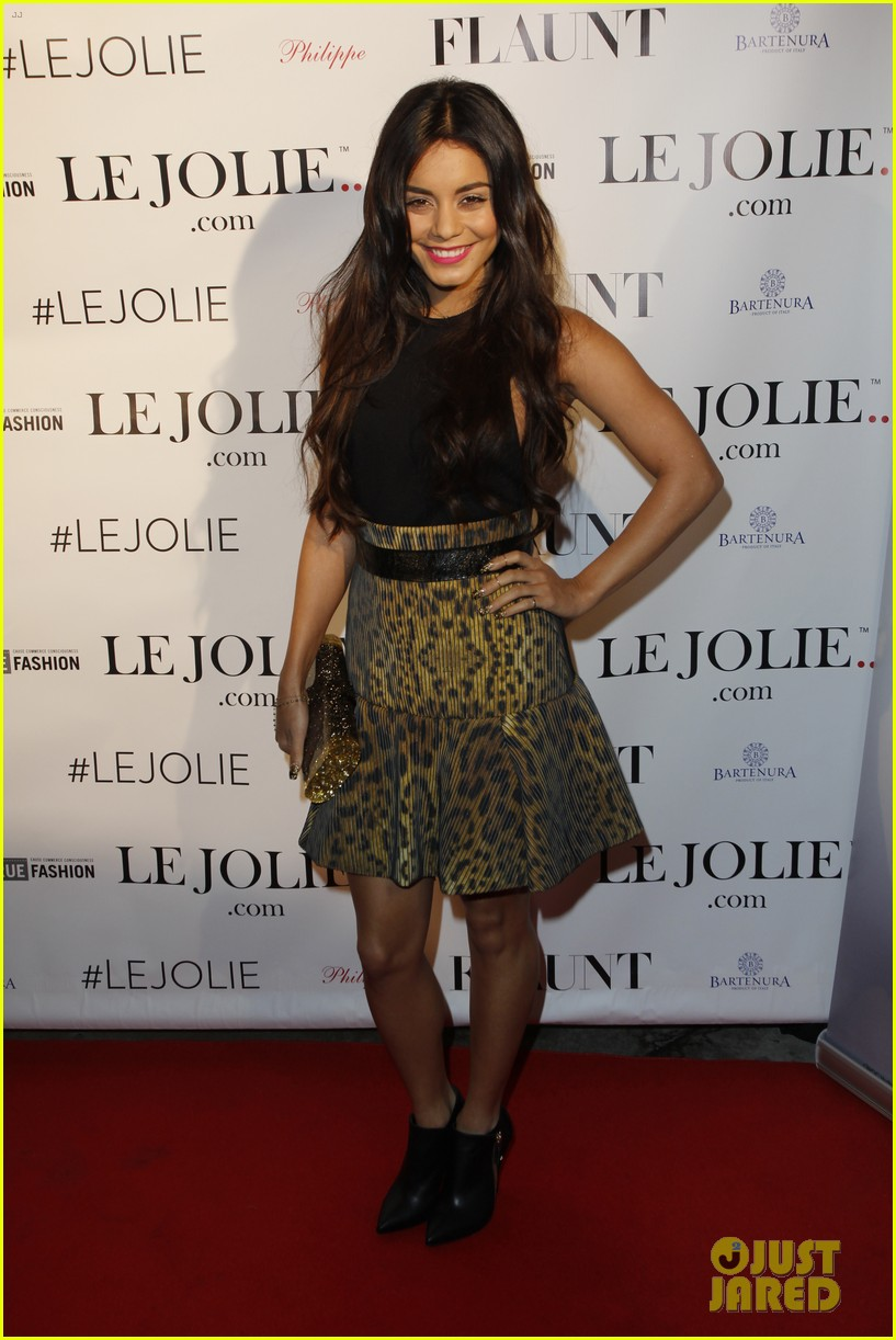vanessa hudgens le jolie launch party 01
