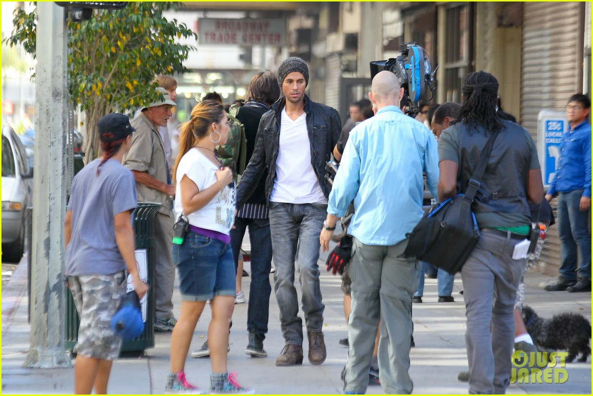 enrique iglesias films heart attack music video 072967608