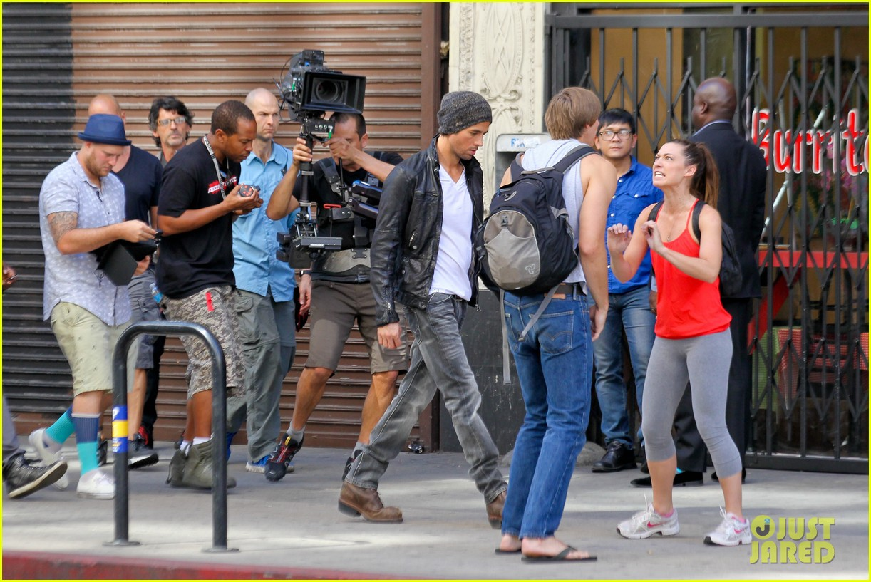 enrique iglesias films heart attack music video 102967611
