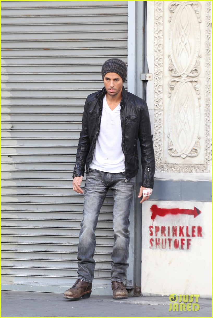 enrique iglesias films heart attack music video 162967617
