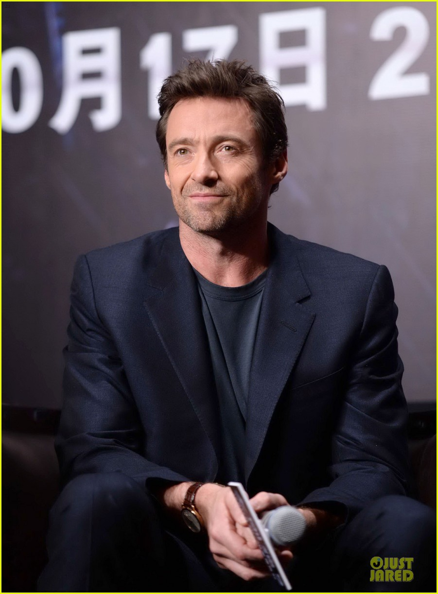 hugh jackman wolverine china press conference 022971996