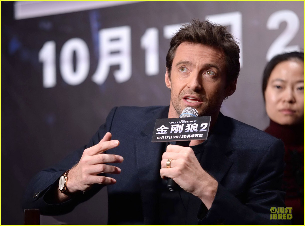 hugh jackman wolverine china press conference 082972002