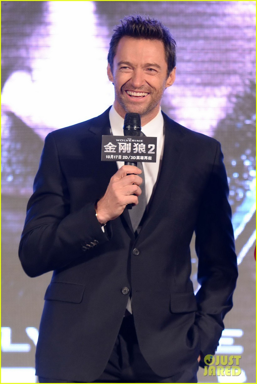 hugh jackman premieres the wolverine in china 022972667