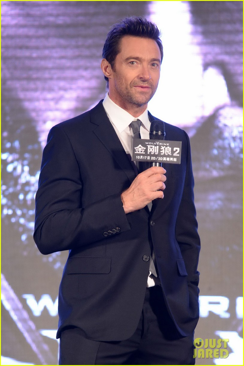 hugh jackman premieres the wolverine in china 082972673