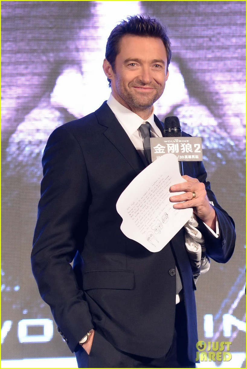 hugh jackman premieres the wolverine in china 092972674