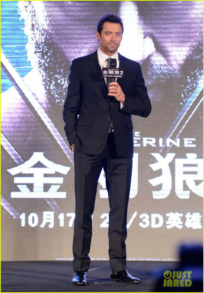 hugh jackman premieres the wolverine in china 112972676