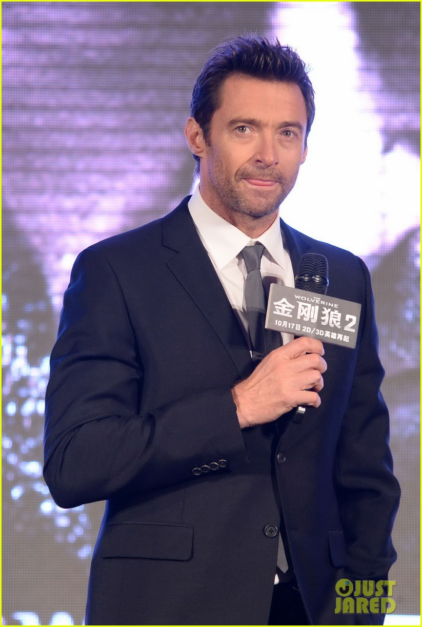 hugh jackman premieres the wolverine in china 122972677