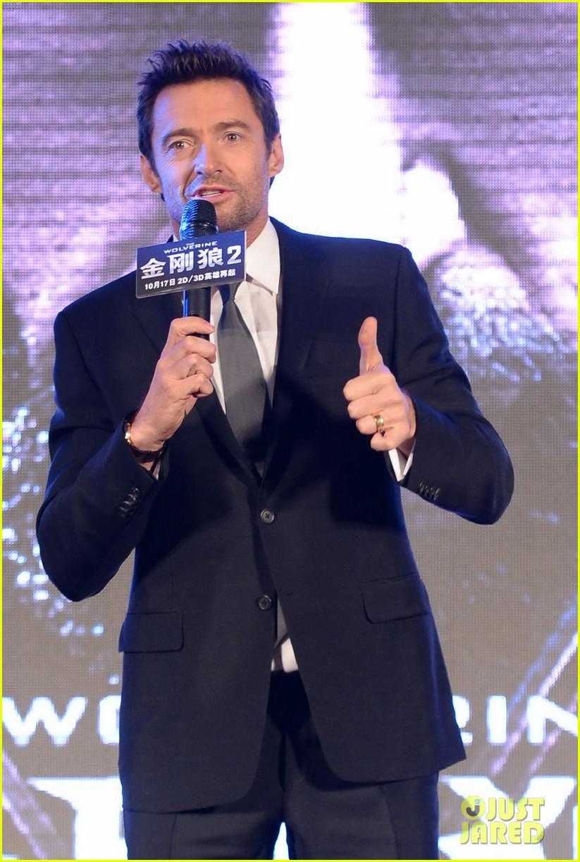 hugh jackman premieres the wolverine in china 132972678