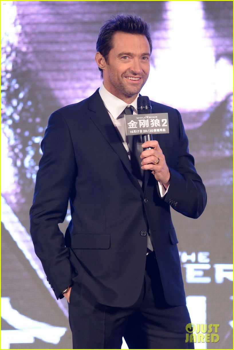hugh jackman premieres the wolverine in china 172972682
