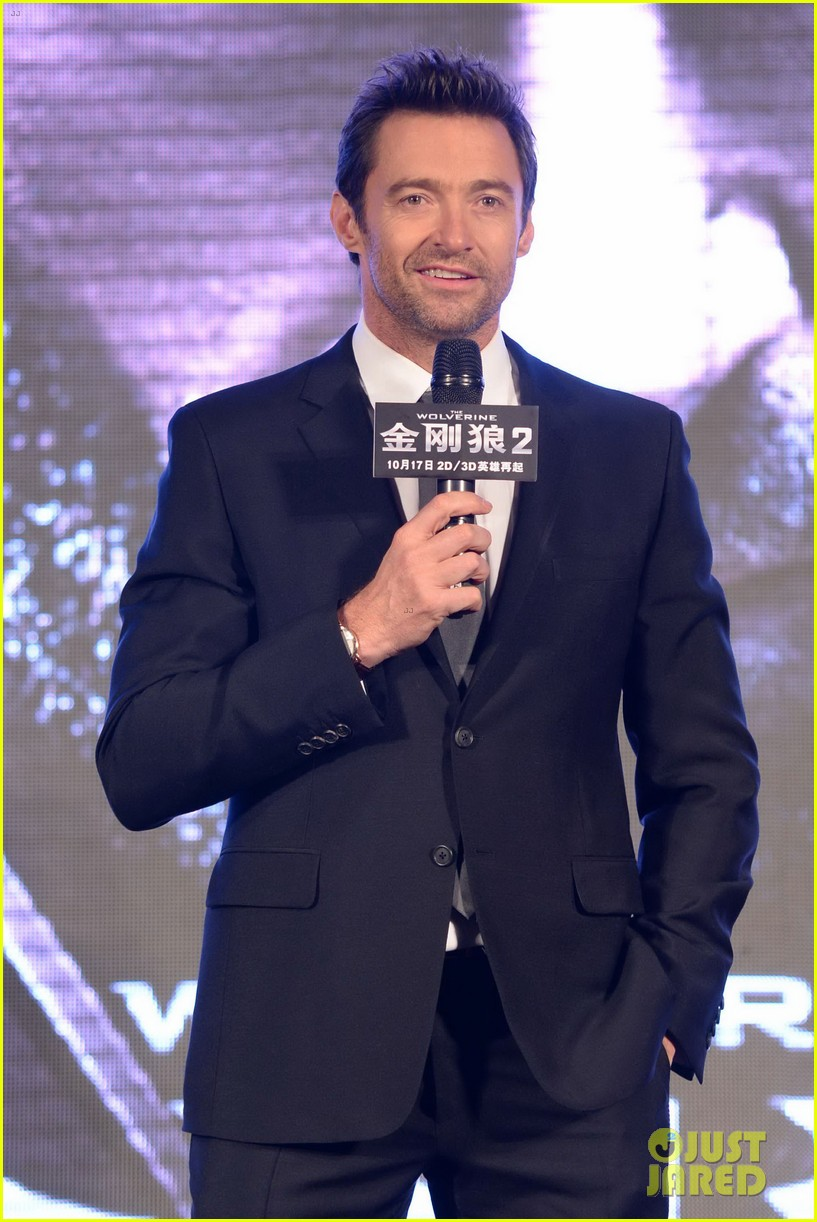 hugh jackman premieres the wolverine in china 212972686