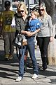 january jones baby boy xander to lunch with friends 01