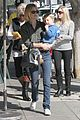 january jones baby boy xander to lunch with friends 06