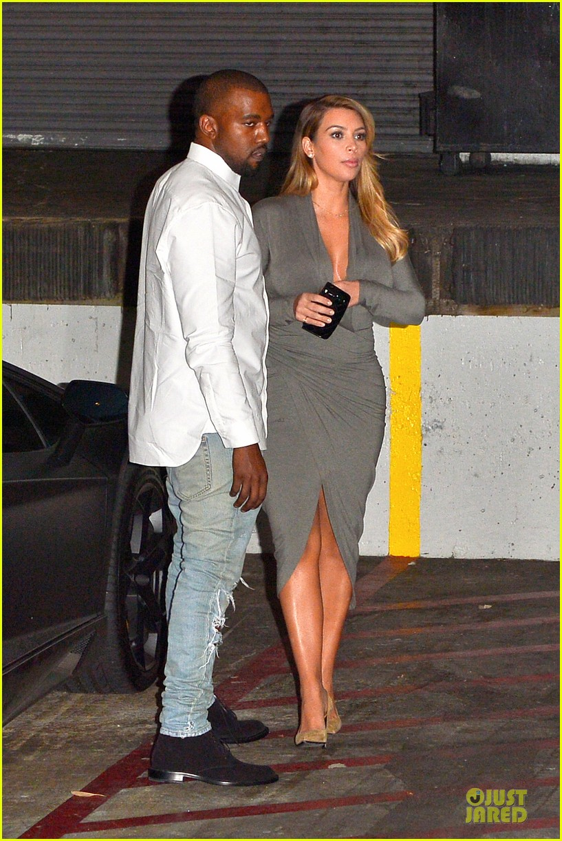 kim kardashian kanye west la opera date night 072970415