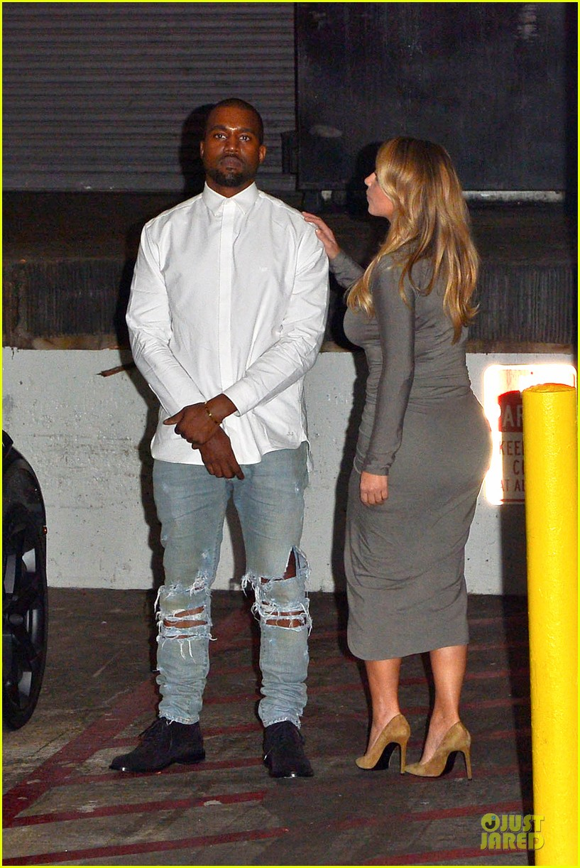 kim kardashian kanye west la opera date night 13