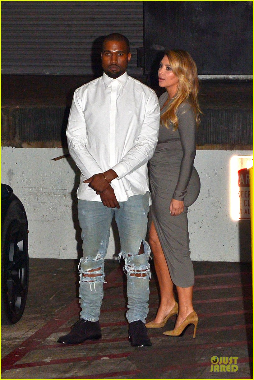 kim kardashian kanye west la opera date night 21