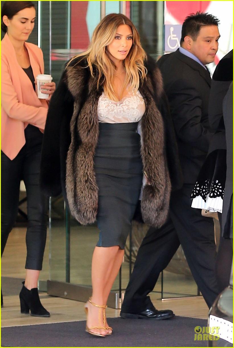 kim kardashian steps out after engagement to kanye west 032977207
