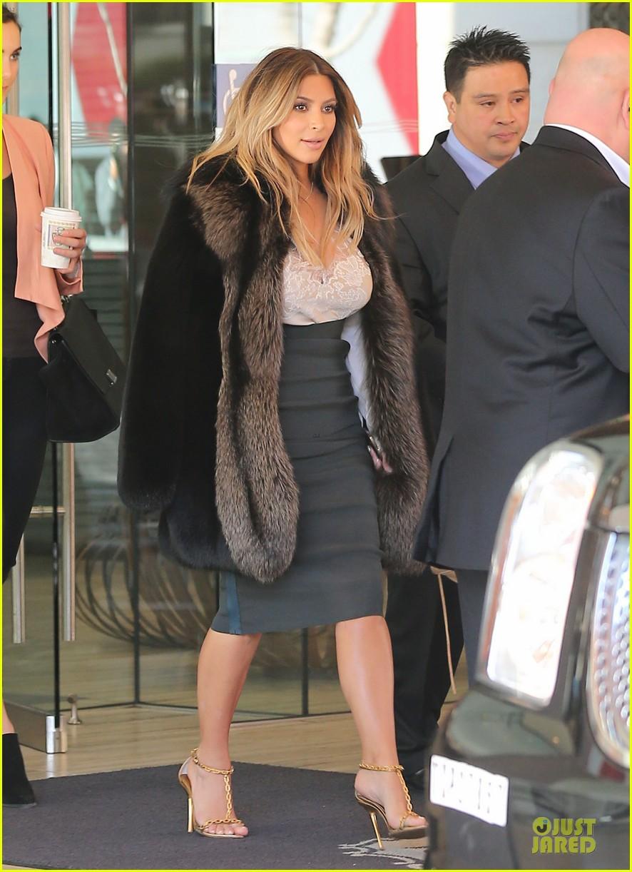kim kardashian steps out after engagement to kanye west 112977215