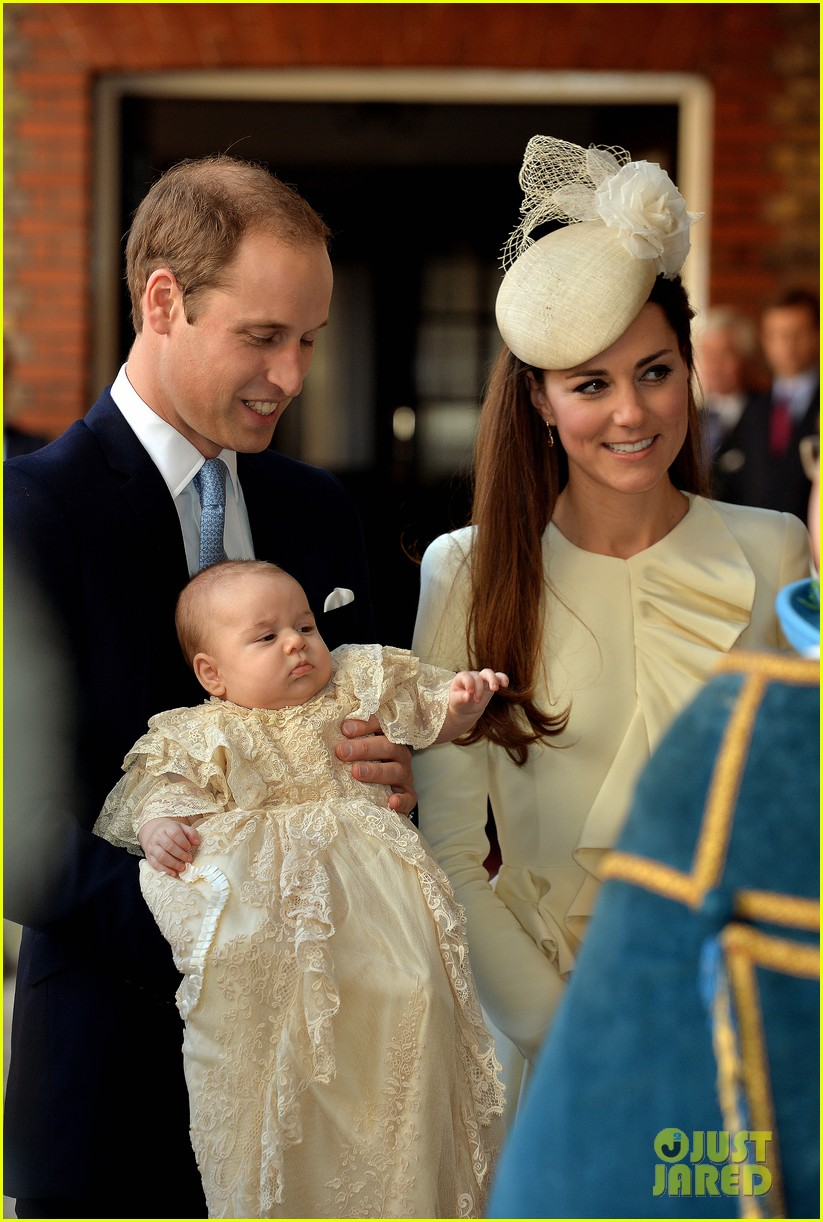 kate middleton prince william prince georges christening see all the pics 052977581