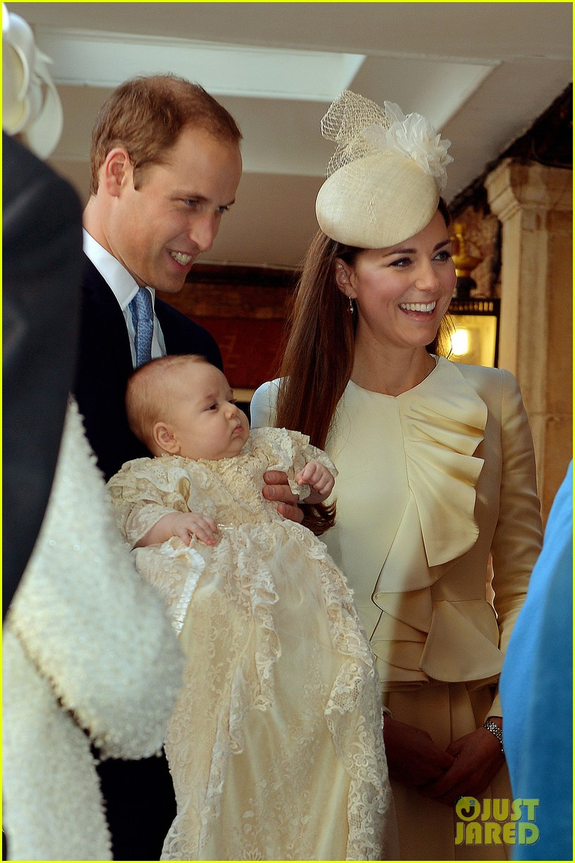 kate middleton prince william prince georges christening see all the pics 14