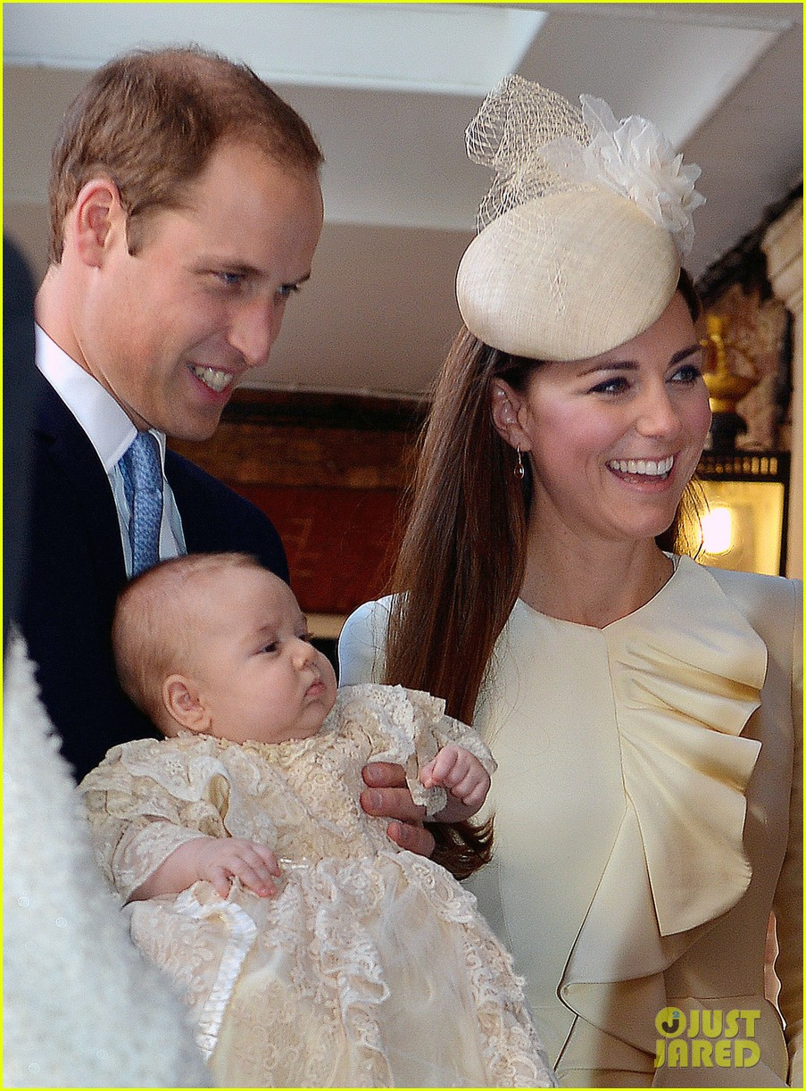 kate middleton prince william prince georges christening see all the pics 152977591