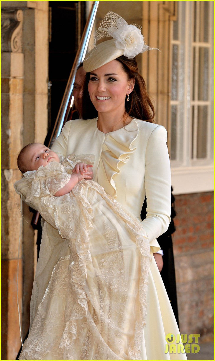 kate middleton prince william prince georges christening see all the pics 162977592