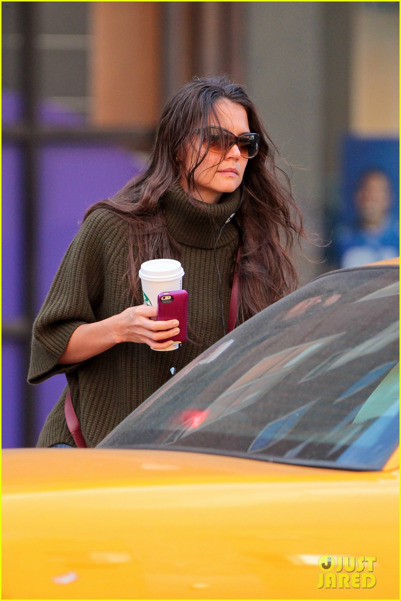 katie holmes i had ombre hair before that was cool 032971187