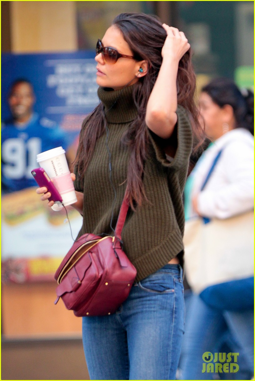 katie holmes i had ombre hair before that was cool 052971189