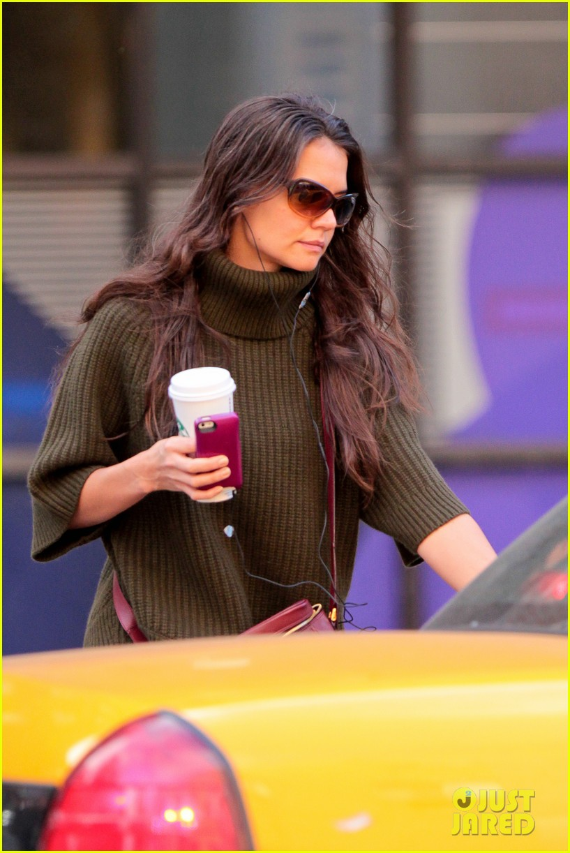 katie holmes i had ombre hair before that was cool 112971195