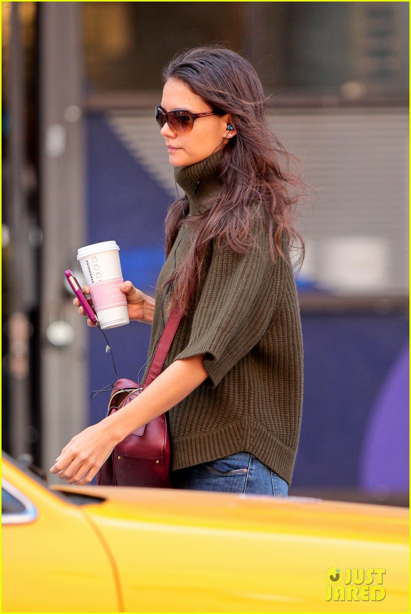 katie holmes i had ombre hair before that was cool 142971198