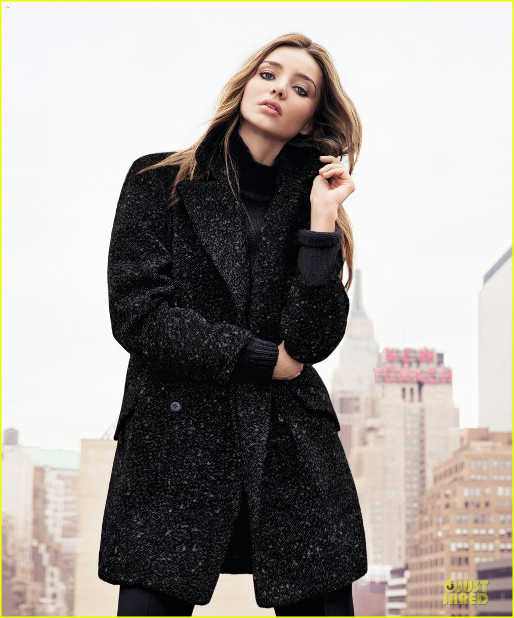 miranda kerr mango winter 2013 campaign pics video 072968507