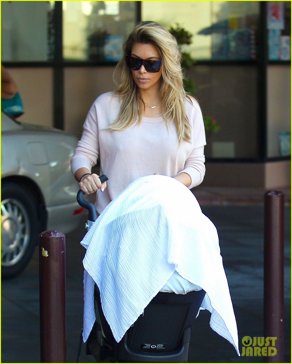 kim kardashian kanye west take north west to doctor 06