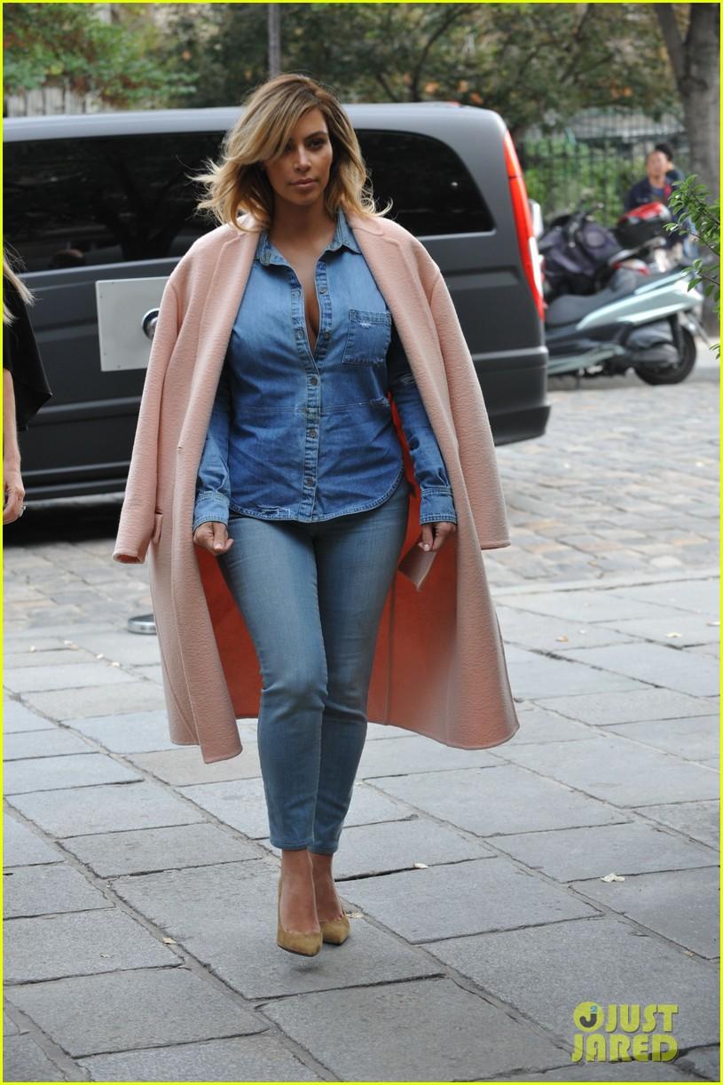 kim kardashian receives custom designer clothes gifts for north west 212963867