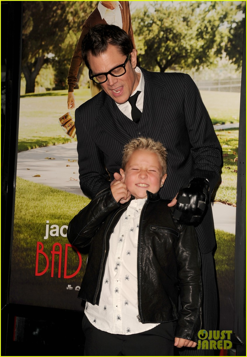johnny knoxville jackson nicoll bad grandpa premiere 042978246