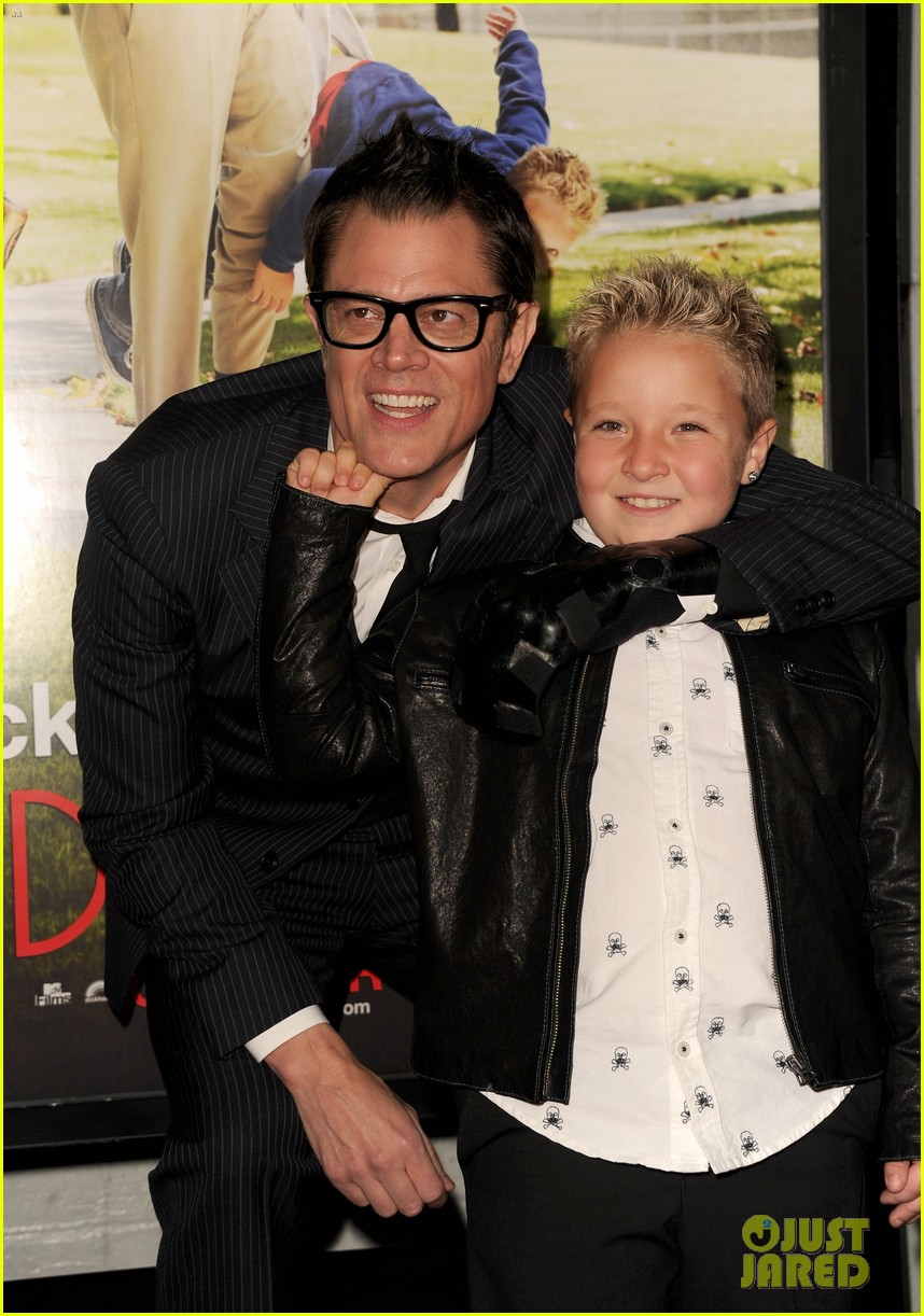 johnny knoxville jackson nicoll bad grandpa premiere 072978249
