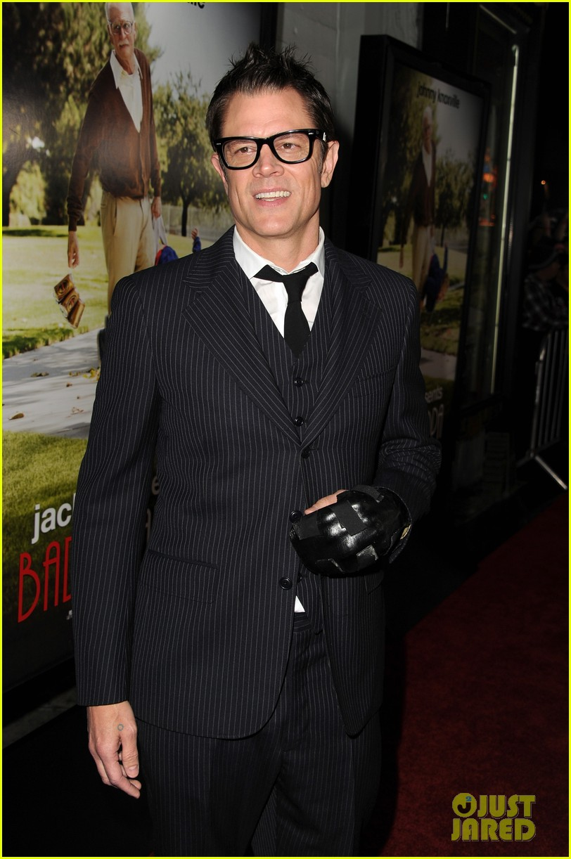 johnny knoxville jackson nicoll bad grandpa premiere 10